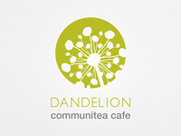 Dandelion Communitea Cafe - Logo Design (2 of 3)