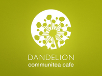 Dandelion Communitea Cafe - Logo Design (1 of 3)
