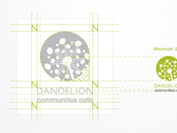 Dandelion Communitea Cafe - Logo Design (3 of 3)
