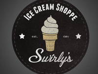 Swirly's Ice Cream Shoppe Logo
