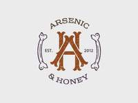 Arsenic & Honey Logo #1