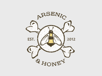 Arsenic & Honey Logo #3