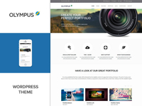 Olympus WordPress Theme