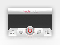 Beats By Dre iOS Ui
