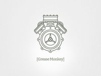 Grease Monkey Branding