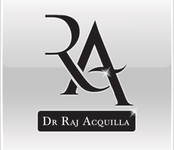 Raj Acquilla Logo Design