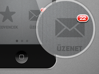 iPhone App Mockup for Eures