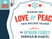 McNabb Holiday Card