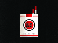 Mad Men Lucky Strikes