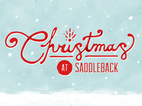 Christmas at Saddleback