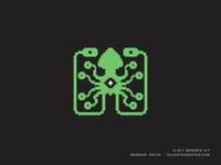 8-Bit Laughing Squid Logo