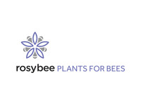 Rosybee_plants_for_bees_logo_design_teaser