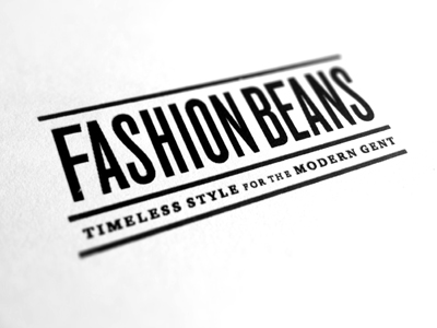 Fashionbeans_logo_design