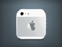 iPhone 5 iOS App Icon