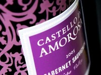 Castello Di Amorosa: Packaging