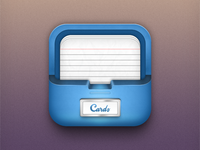 Notecards app icon