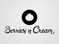 Berries n Cream Logo