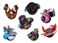 Nerdary Monster Icon Set