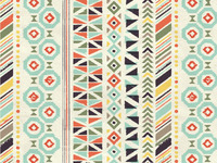 Native American Inspired Textile