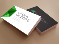 Sharp Business Cards