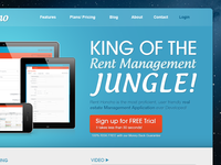 Rent Management Website