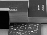 Burt business cards