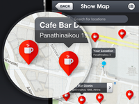 iOS App - Map Screen
