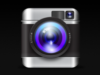 EyeEm App Icon with a Lense