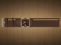 My Leather Watches with zipper @2x