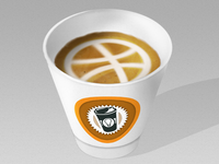 Dribbble Coffee Cup
