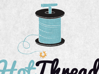 Hot Thread Logo Concept