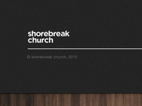 Shorebreak Church Footer