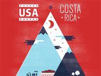 USA Men's Soccer Team – World Cup Qualifier Poster
