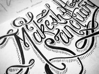 Some Good Ol' Lettering