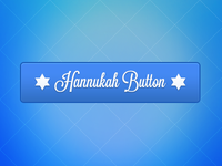 Hannukah Button +PSD