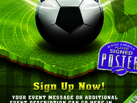 Soccer Event Template Flyer