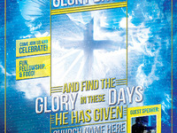 Glory Days Church Flyer