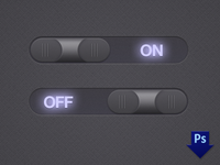 Midnight Toggle Switches