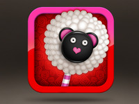 Cake Pop Party Icon