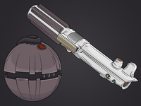 Lightsabers And Thermal Detonators