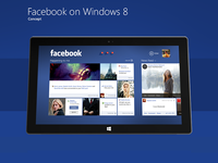 Facebook on windows 8