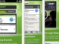 iPhone app tutorial screens