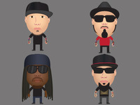P.O.D. Avatars for TurntableFM
