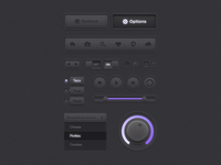 Darkpurple UI Kit