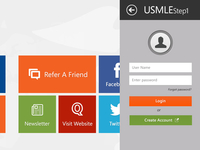 Usmlestep1 Surface App UI