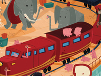 P is for pachyderm, potbelly pig and platypus