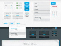 Ui Kit Paper Graphite