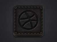 Leather Social Icons II