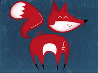 The quick red fox!