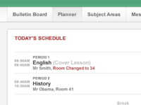 Today's Schedule